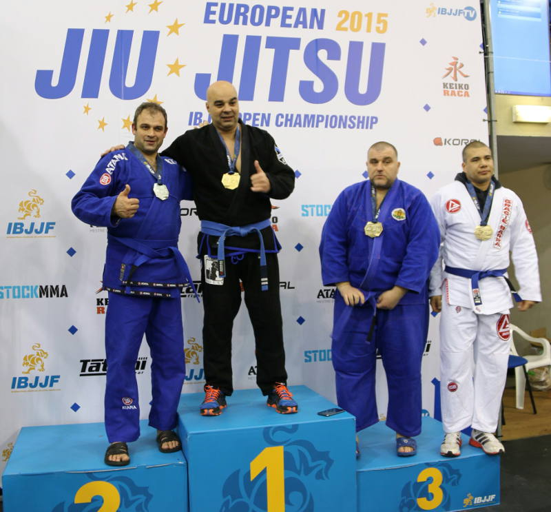 Xavier Vaillant  Podium europe 2015